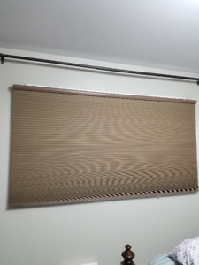 "Cellular Blackout Blind - 60""+ Brown"