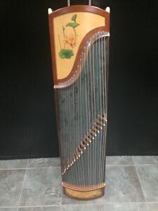 Chinese Zither Harp
