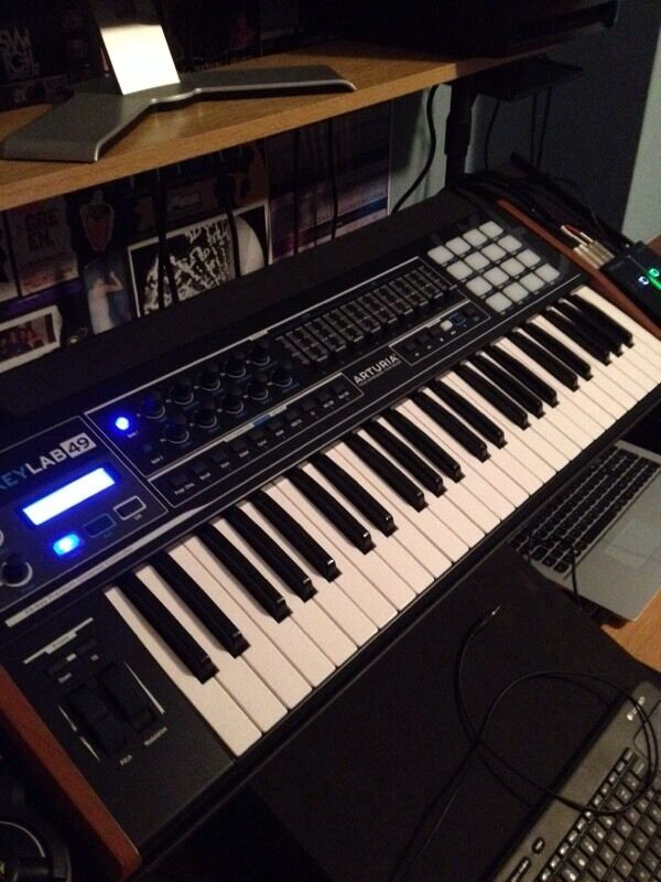 arturia keylab 49 professional usb midi keyboard controller in southend on sea essex gumtree. Black Bedroom Furniture Sets. Home Design Ideas