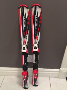 Childrens' Downhill Skiis and Bindings - 110