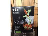 Braun multiquick food processor attachment for Braun handheld mixer