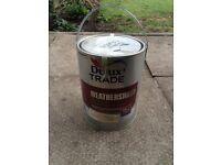 Dulux trade weathershield masonry paint