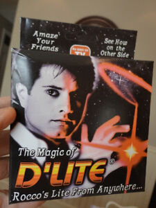 Brand New Magic Trick called D'Lites - You can manipulate light Kitchener / Waterloo Kitchener Area image 2