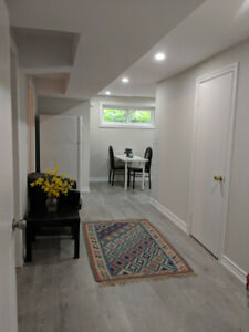 2 Bedroom Basement apartment for rent, North York