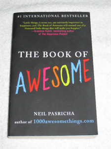 THE BOOK OF AWESOME - BRANDNEW - CHECK IT OUT!