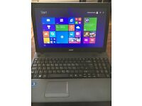 Acer aspire laptop 15.6inch screen 4gb ram 500 gb HDD