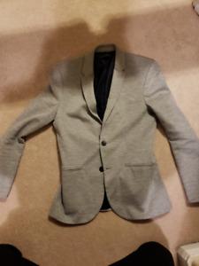 Zara Casual Grey Blazer - Size 38R