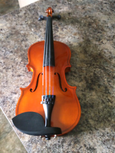 Small Violin with Carrying Case