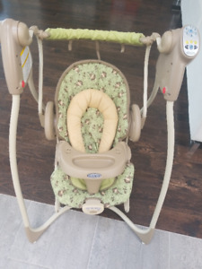 Graco Duo 2-in-1 Swing & Bouncer - Swing only works on one speed