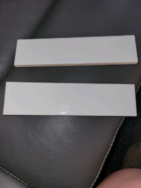 FREE White rectangle tiles (Topps Tiles)