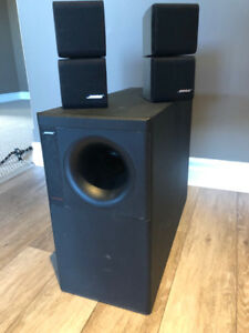 BOSE Acoustimass 5 Series Speakers and Sub
