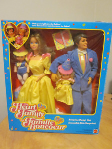 1985 The Heart Family Surprise Party! Mattel # 2383