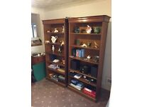 Large bookcases x2