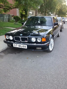 1993 BMW 7-Series Cuir toit ouvrant mags Berline