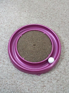 Cat Scratcher & Toy - New - $20 or best offer