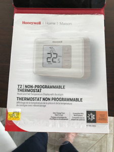 2 Thermostats électroniques