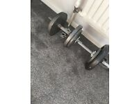 Marcy weight plates and bars