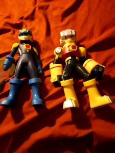 Nintendo Megaman And Rockman Action Figures $35