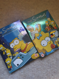 Simpsons series 7 and 8 (DVD)