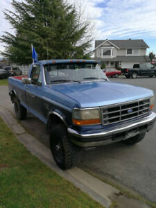 1996 ford f250/ f350 OBS Solid axle front