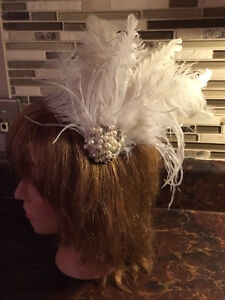 Bridal headpieces, Fascinators, hair clips, Feather headbands West Island Greater Montréal image 9