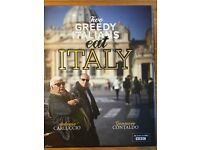 Two greedy Italians book 1 and 2 with dvd