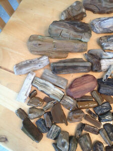 Petrified Wood for Aquarium or other use, Big and small pieces.