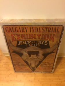 Original Calgary Stampede Wall Art