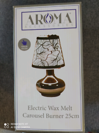 Electric wax melt lamp