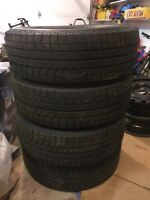 Touareg winter (snow) tires almost new!