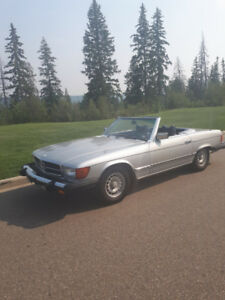 1979 Mercedes 450SL Convertible, low kms.