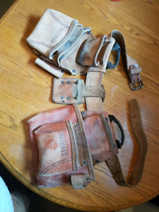 Leather Carpenters Toolbelt