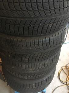 Michelin X-Ice3 215/55R17 en excellente condition