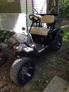 Lifted Golf Cart