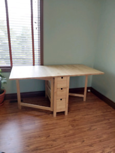 Ikea Norden fold out table