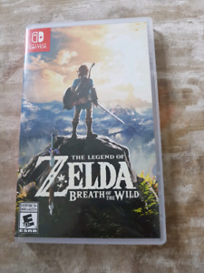 Zelda breath of the wild for switch