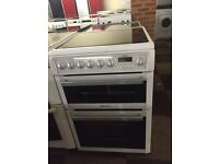 HOTPOINT 60 CM WIDE ELECTRIC COOKER WITH GUARANTEE
