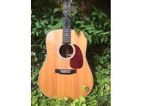 Martin acoustic guitar model HD28