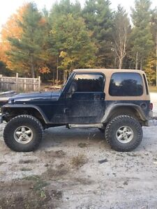 Jeep Tj  will trade. Let's see what ya got