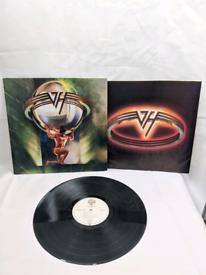 VAN HALEN ~ 5150 ~ Original 1986 US 9-track vinyl LP with inner lyric