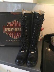 Harley Davidson ladies biker boots