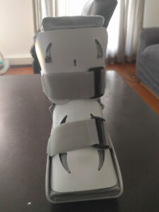 Airboot for fractured food