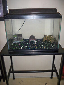 Fish tank /stand and pump