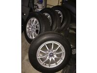 MERCEDES ML/SPRINTER WHEELS WITH BRAND NEW MICHELIN TYRES 235/65R17