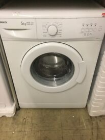 Beko white washing machine 5kg