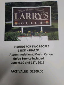 LARRY'S GULTCH fishing experience for 2