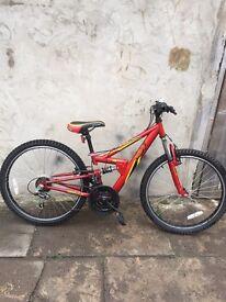 Mountain Apollo bike 24inch