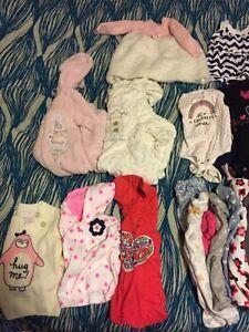 3-6m baby girls clothing