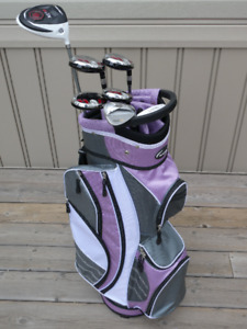 Ladies Hybrid Right Hand Golf Clubs and Bag for Sale