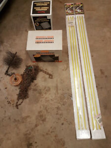 Chimney Cleaning Brushes and Rods **BRAND NEW**